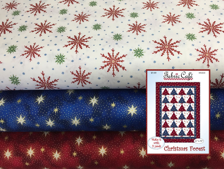 Holiday 3 Yard Quilt Kits