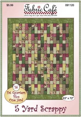 SCRAPPY 5 YD QUILT PATTERN : 5 yard quilt patterns - Adamdwight.com