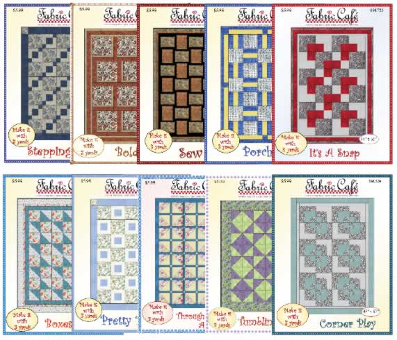 Top selling 3-yard quilt patterns