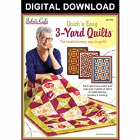 Quick'n Easy 3 Yard Quilts - Downloadable Pattern Book