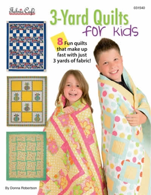 3 Yard Quilt for Kids - Pattern Book