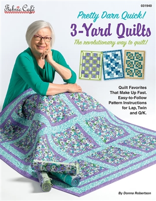 Pretty Darn Quick 3-Yard Quilts - Pattern Book