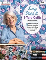 Easy Does It 3-Yard Quilts - Pattern Book