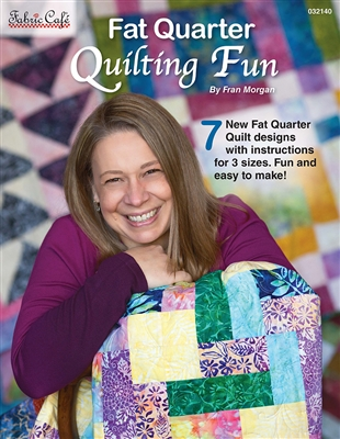 Fat Quarter Quilting Fun 3-Yard Quilts - Pattern Book