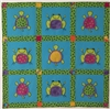 Turtles and Frogs FREE Quilt Pattern