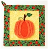 Pumpkin Pot Holder Pattern - Chenille By The Inch