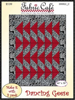 Dancing Geese - 3 Yard Quilt Pattern