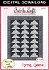 Flying Geese Downloadable 3 Yard Quilt Pattern