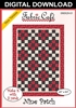 Nine Patch Downloadable 3 Yard Quilt Pattern
