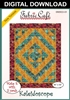 Kaleidoscope Downloadable 3 Yard Quilt Pattern