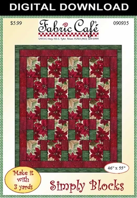 Simply Blocks - Downloadable 3 Yard Quilt Pattern