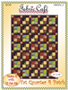Fat Quarter 4 Patch Downloadable 3 Yard Quilt Pattern