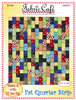 Fat Quarter Strip Downloadable 3 Yard Quilt Pattern