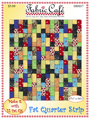 Fat Quarter Strip Quilt Pattern
