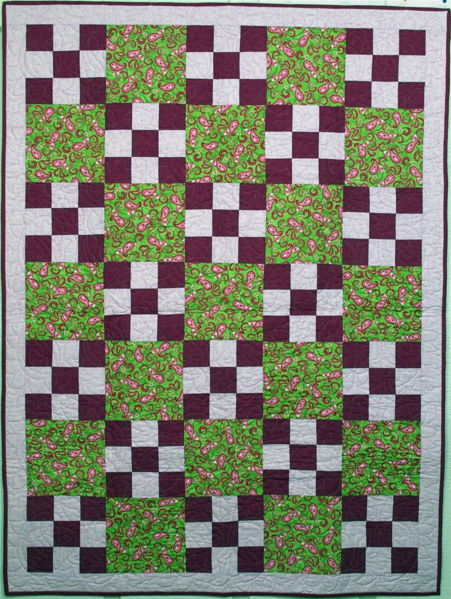 Nine Plus One 3 Yard Quilt Pattern