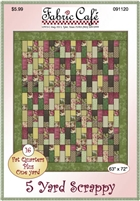 5 Yard Scrappy - Quilt Pattern