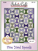 Spools - Downloadable 5 Yard Fat Quarter Quilt Pattern