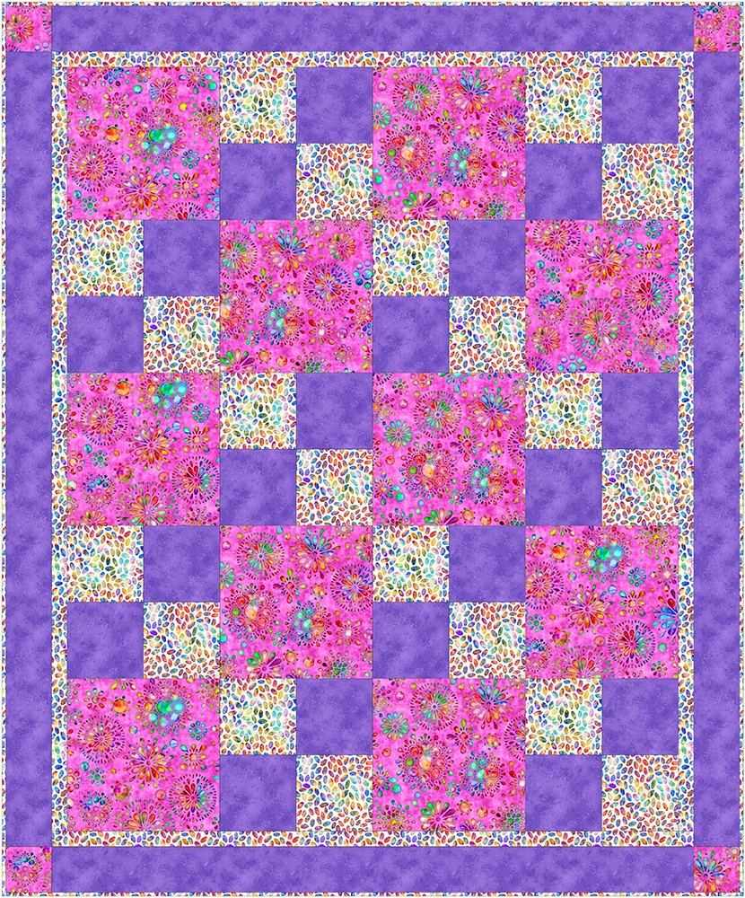 Sew Quick Free 40 Yard Quilt Pattern Awesome Quilt Patterns