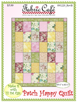 Patch Happy Fat Quarter Quilt Pattern