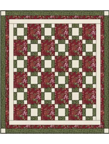 Awareness 3 Yard Quilt Free Pattern