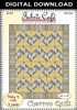 Chevron Downloadable 3 Yard Quilt Pattern