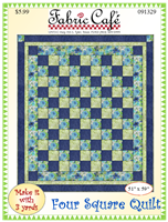 Four Square - 3 Yard Quilt Pattern
