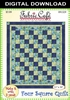 Four Square - Downloadable 3 Yard Quilt Pattern