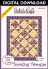Tumbling Triangles Downloadable 3 Yard Quilt Pattern