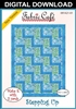 Stepping Up - Downloadable 3 Yard Quilt Pattern