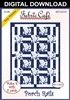 Porch Rails - Downloadable 3 Yard Quilt Pattern