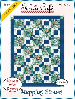 Stepping Stones - 3 Yard Quilt Pattern