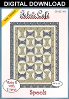 Spools - Downloadable 3 Yard Quilt Pattern