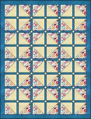 Through The Window Again - Downloadable 3 Yard Quilt Pattern : through the window quilt pattern - Adamdwight.com