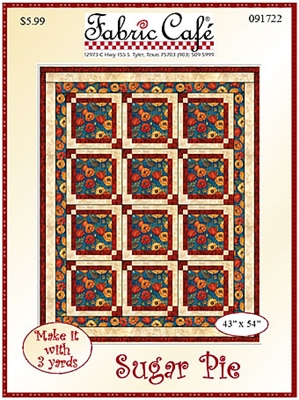 Sugar Pie - Downloadable 3 Yard Quilt Pattern
