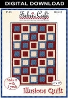 Illusions - Downloadable 3 Yard Quilt Pattern