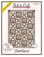 Heartland 3 - Yard Quilt Pattern