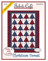 Christmas Forest - Downloadable 3 Yard Quilt Pattern