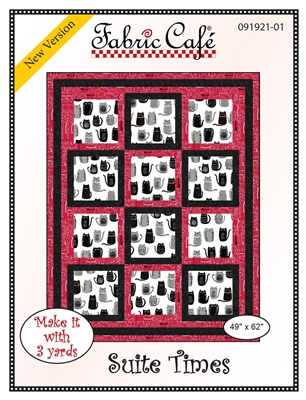Suite Times - 3 Yard Quilt Pattern
