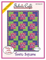 Town Square - 3 Yard Quilt Pattern
