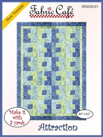 Attraction - 3 Yard Quilt Pattern