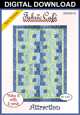 Attraction Downloadable - 3 Yard Quilt Pattern