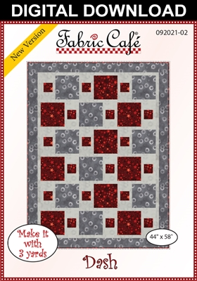Dash Downloadable - 3 Yard Quilt Pattern
