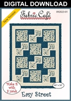 Easy Street Downloadable - 3 Yard Quilt Pattern