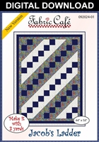Jacob's Ladder Downloadable - 3 Yard Quilt Pattern