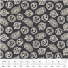 Camelot Fabrics_Avengers-Tossed Logos_13050103 / 03 Charcoal