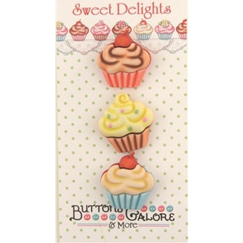 Cupcake Buttons / SD112