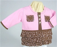 Triple Ruffle Sweatshirt Jacket Kit
