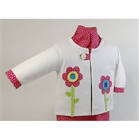 Flower Garden - Sweatshirt Jacket Kit