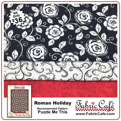 Roman Holiday - 3 Yard Quilt Kit