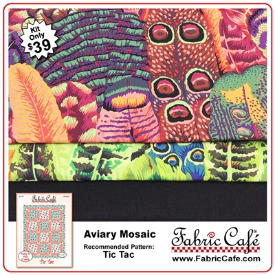 Aviary Mosaic - 3 Yard Quilt Kit